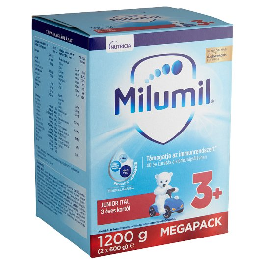Milumil Junior 3+ Kids Drink 3+ Years 1,2 kg