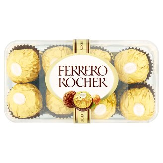 Ferrero Rocher Crunchy Wafers Covered with Milk Chocolate & Peanut Pieces 200 g