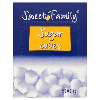 SweetFamily Sugar Cubes 500 g