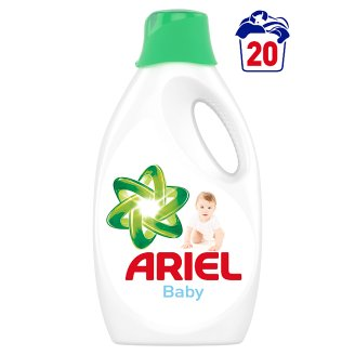 Ariel Washing Liquid Baby 1.1 l, 20 Washes, Dermatologically Tested For Your Baby Sensitive Skin