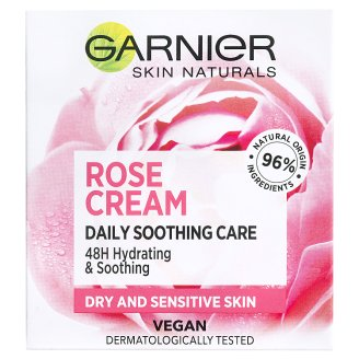 Garnier Skin Naturals Botanical Hydrating Cream with Rose Water for Dry and Sensitive Skin 50 ml