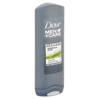 Dove Men+Care Elements Minerals+Sage Body and Face Wash 250 ml