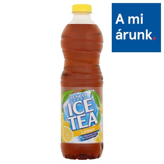 Tesco Ice Tea citromízű üdítőital feketetea-kivonattal, cukorral és édesítőszerrel 1,5 l