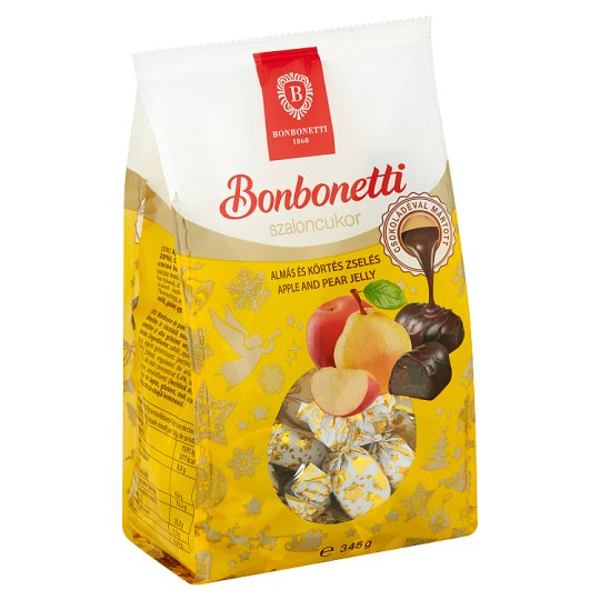 Bonbonetti Apple and Pear Flavoured Jelly Dessert with Chocolate 345 g