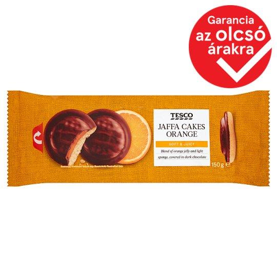 Tesco Orange Jaffa Cakes Covered in Dark Chocolate 150 g