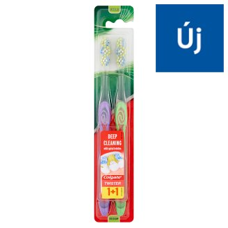 Colgate Twister Medium Toothbrush 2 pcs
