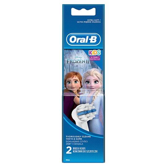 Oral-B Stages Fogkefepótfejek Jégvarázs Mesefigurákkal, 2 db