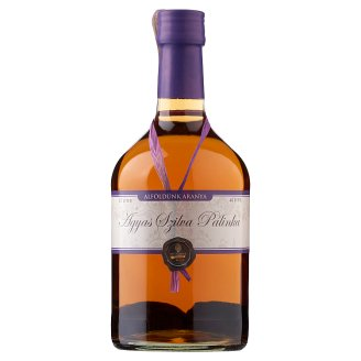 Alföldünk Aranya Plum Palinka on Fruit Bed 40% 0,7 l