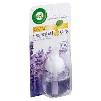 Air Wick Essential Oils Purple Lavender Meadow Electrical Plug In Refill 19 ml