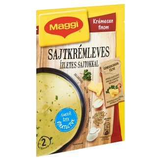 Maggi Cheese Cream Soup with Tasty Cheese 34 g