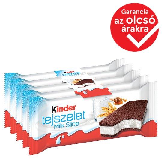 Kinder Tejszelet tejes töltésű sütemény 5 x 28 g