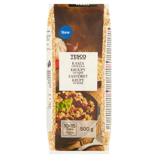Tesco Peeled Barley 500 g