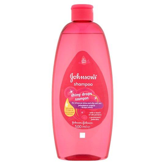 Johnson's Shiny Drops sampon 500 ml