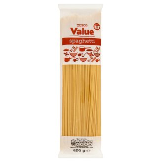Tesco Value Spaghetti Dried Pasta without Egg 500 g