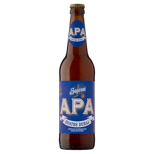 Soproni Óvatos Duhaj APA minőségi világos sör 5,5% 0,5 l