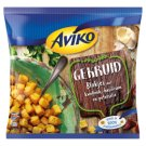 Aviko Pre-Fried, Quick-Frozen Potato Cubes in Crunchy Garlic Spice Coatings 450 g