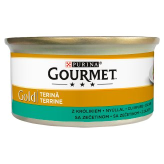 Gourmet Gold Complete Pet Food for Adult Cats with Rabbit 85 g