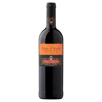 Decordi Nero D'Avola Terre Siciliane száraz vörösbor 12,5% 750 ml