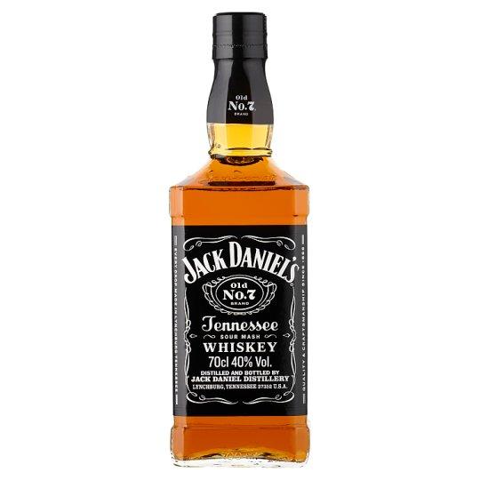Jack Daniel's Tennessee whiskey 40% 0,7 l