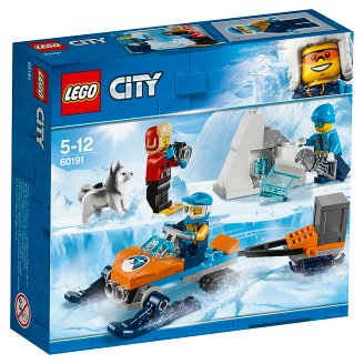 LEGO City Arctic Expedition Sarkvidéki expedíciós csapat 60191