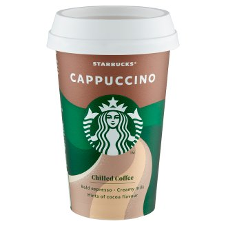 Starbucks Cappuccino UHT Milk Drink with Coffee and Cocoa 220 ml