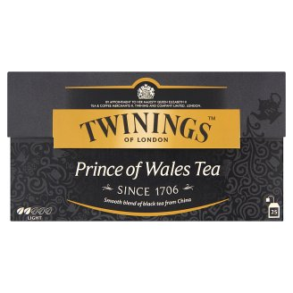 Twinings Prince of Wales fekete tea 25 filter 50 g