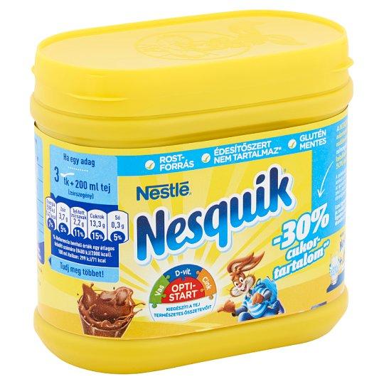 Nesquik csökkentett cukortartalmú instant kakaó italpor vitaminokkal és ásványi anyagokkal 350 g