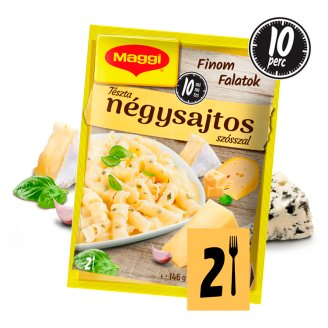 Maggi Finom Falatok Paste with Four Cheese Sauce 146 g