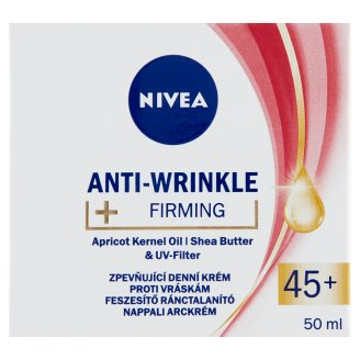 NIVEA Anti-Wrinkle + Firming Day Face Cream 45+ 50 ml