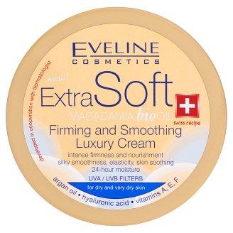 Eveline Cosmetics Extra Soft macadamia olaj tartalmú bőrfeszesítő hatású luxus krém 200 ml