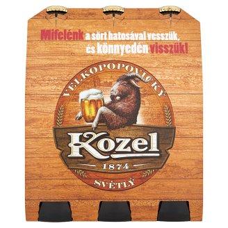 Velkopopovický Kozel Lager Beer 4% 6 x 0,5 l