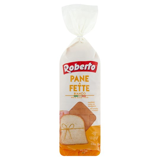 Roberto búzafinomlisztből készült szeletelt kenyér olívaolajjal 400 g