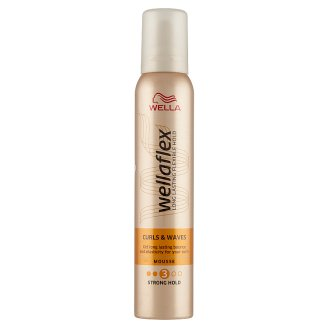 Wellaflex Curls & Waves Mousse - Strong Hold 200 ml
