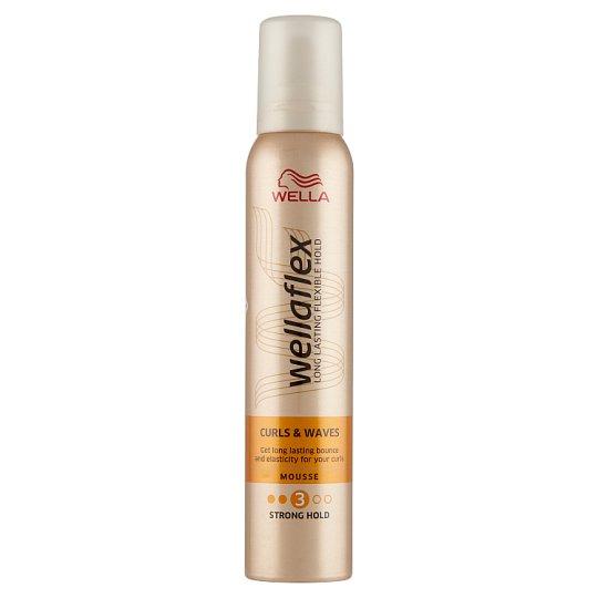 Wella Wellaflex Curls & Waves Strong Hold Mousse 200 ml