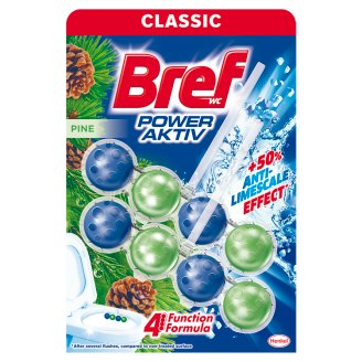 Bref Power Aktiv Pine Forest Toilet Block 2 x 50 g