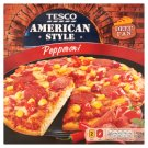 Tesco American Style Quick-Frozen Pizza with Tomato Sauce, Cheese and Pepperoni 404 g