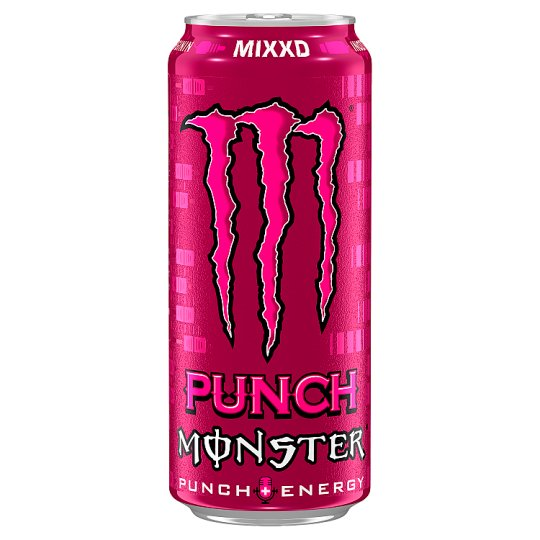 Monster Energy Mixxd Punch Carbonated Drink with Sugars and Sweetener 500 ml