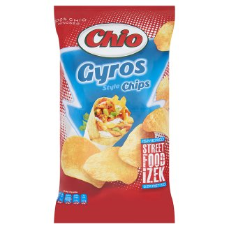 Chio Potato Chips with Gyros Flavour 150 g
