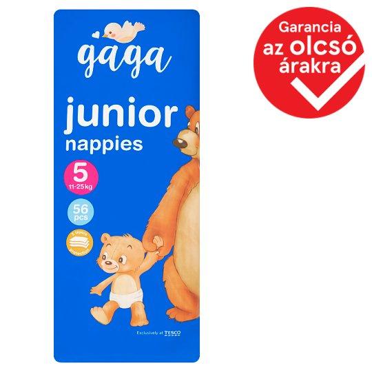 image 1 of Gaga 5 Junior 11-25 kg Nappies 56 pcs
