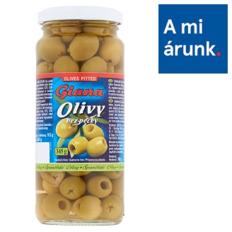 Giana Pitted Spanish Green Olives 345 g