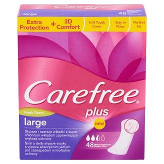 Carefree Plus Large Fresh Scent tisztasági betét 48 db