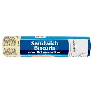 Oatland Biscuit Co. Sandwich Biscuits with Vanilla Flavoured Cream 500 g