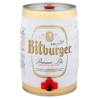 Bitburger Imported German Light Beer 4,8% 5 l