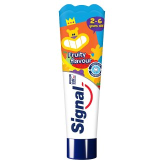 Signal Kids Fruit Flavour Toothpaste 2-6 Years 50 ml