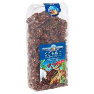 Bio King Organic Chocolate-Nut Crunchy Muesli 375 g