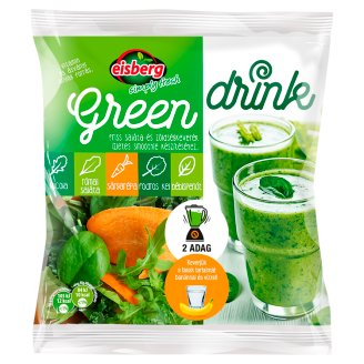 Eisberg Green Drink Vegetable and Salad Mix for Making Delicious Smoothie 160 g