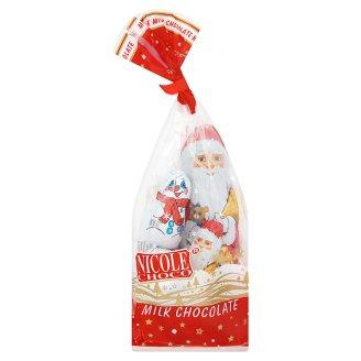 Nicole Choco tejcsokoládé Mikulás csomag 123 g
