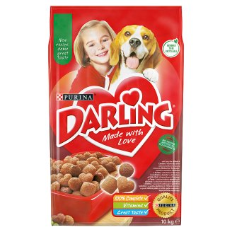 Darling Complete Food for Adult Dogs with Meat & Vegetables 10 kg