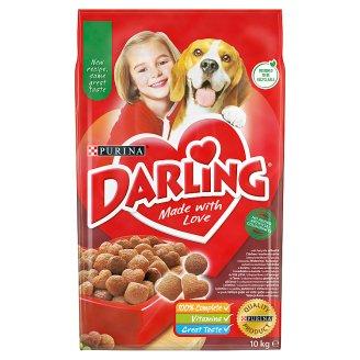 Darling teljes értékű állateledel felnőtt kutyák számára hússal és zöldségekkel 10 kg