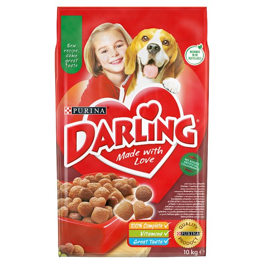 Darling Complete Pet Food for Adult Dogs with Beef 10 kg